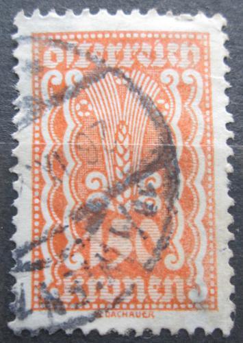 Poštovní známka Rakousko 1922 Alegorie hospodáøství Mi# 380