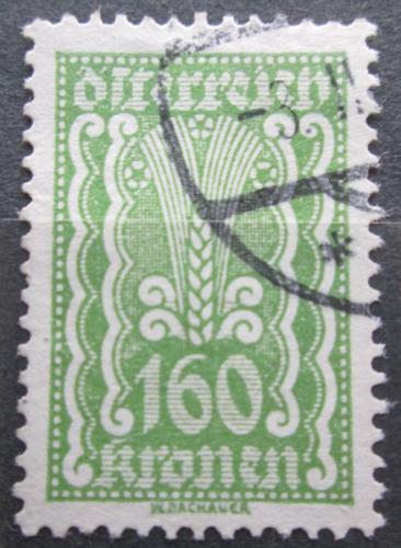 Poštovní známka Rakousko 1922 Alegorie hospodáøství Mi# 381