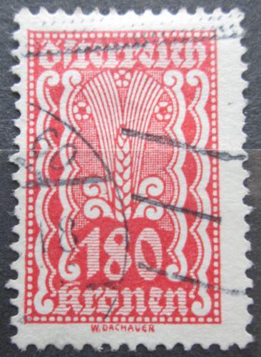 Poštovní známka Rakousko 1922 Alegorie hospodáøství Mi# 382