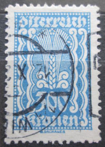 Poštovní známka Rakousko 1922 Alegorie hospodáøství Mi# 385