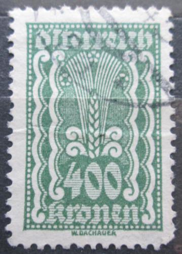 Poštovní známka Rakousko 1922 Alegorie hospodáøství Mi# 386