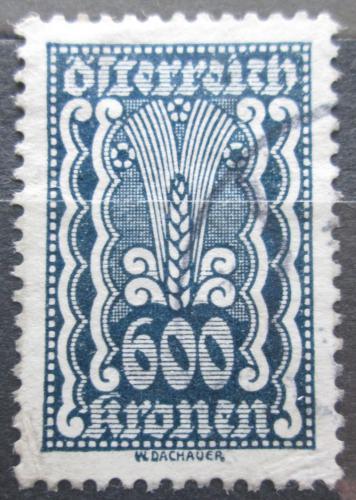 Poštovní známka Rakousko 1922 Alegorie hospodáøství Mi# 388
