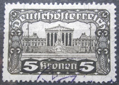 Poštovní známka Rakousko 1920 Budova parlamentu ve Vídni Mi# 288 A