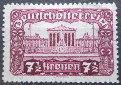 Poštovní známka Rakousko 1920 Budova parlamentu ve Vídni Mi# 289 A