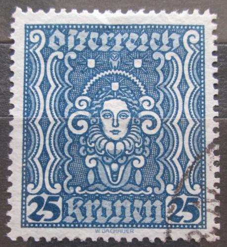 Poštovní známka Rakousko 1922 Hlava ženy Mi# 399 A