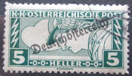 Poštovní známka Rakousko 1919 Merkur, zvláštní doruèení pøetisk Mi# 253 A