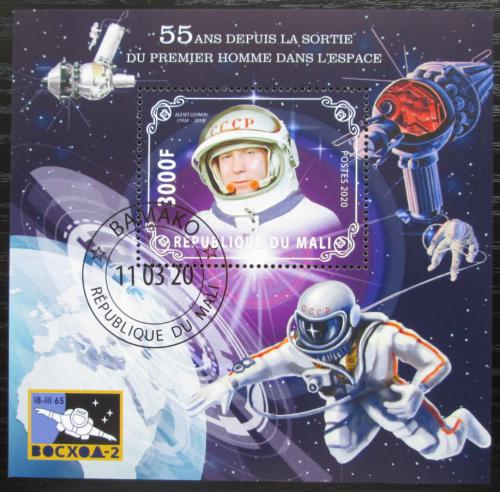 Poštovní známka Mali 2020 Prùzkum vesmíru, Alexej Leonov Mi# N/N