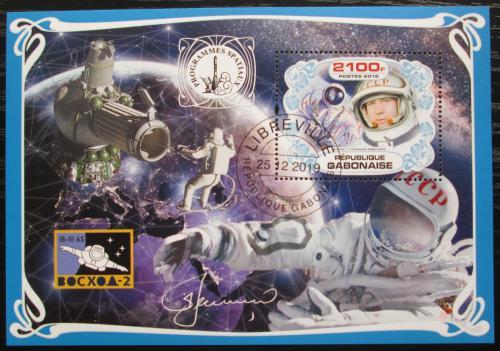 Poštovní známka Gabon 2019 Prùzkum vesmíru, Alexej Leonov Mi# N/N