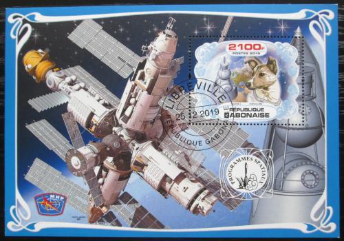 Poštovní známka Gabon 2019 Prùzkum vesmíru, Laika Mi# N/N