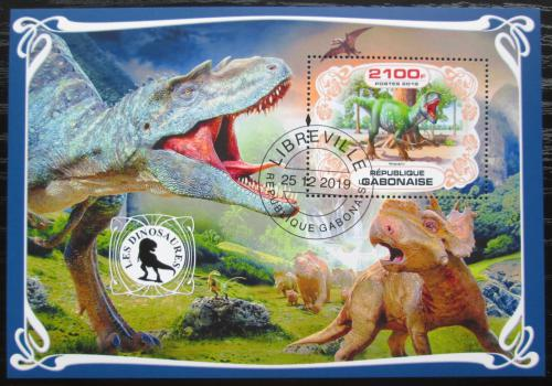 Poštovní známka Gabon 2019 Dinosauøi Mi# N/N