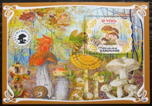 Poštovní známka Gabon 2019 Houby Mi# N/N