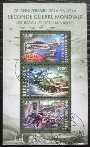 Poštovní známka SAR 2015 Konec války, 70. výroèí Mi# 5320-22 Kat 16€