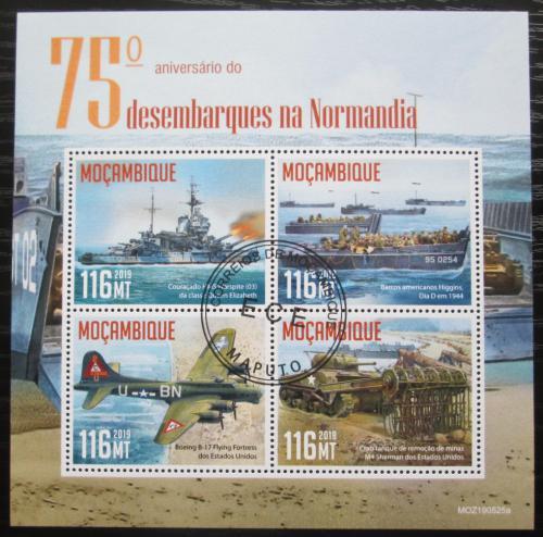 Poštovní známky Mosambik 2019 Vylodìní v Normandii, 75. výroèí Mi# N/N