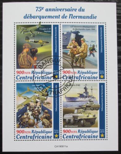 Poštovní známky SAR 2019 Vylodìní v Normandii, 75. výroèí Mi# N/N