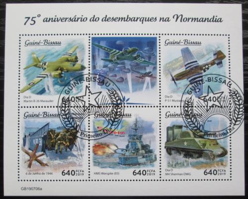 Poštovní známky Svatý Tomáš 2019 Vylodìní v Normandii, 75. výroèí Mi# N/N