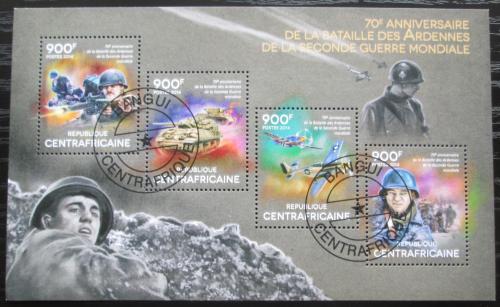 Poštovní známky SAR 2014 Bitva v Ardenách, 70. výroèí Mi# 4840-43 Kat 16€