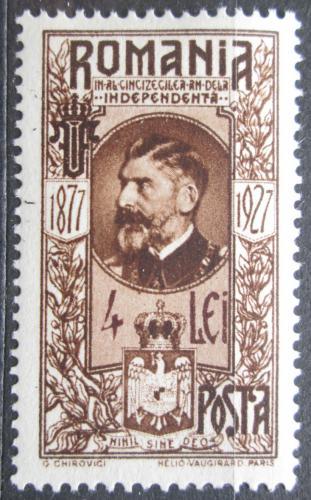 Poštovní známka Rumunsko 1927 Král Ferdinand I. Mi# 314