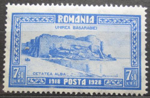 Poštovní známka Rumunsko 1928 Pevnost Akkerman Mi# 333