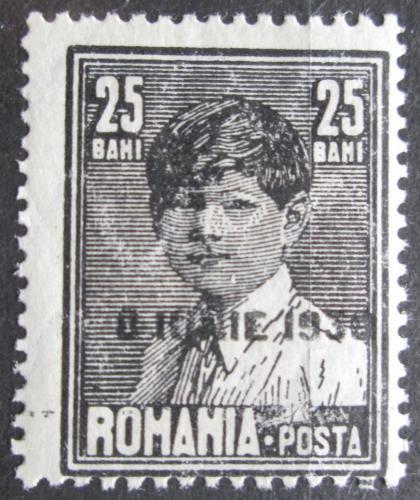 Poštovní známka Rumunsko 1930 Král Michael I. pøetisk Mi# 361