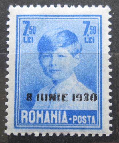 Poštovní známka Rumunsko 1930 Král Michael I. pøetisk Mi# 368 Kat 13€