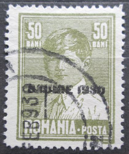 Poštovní známka Rumunsko 1930 Král Michael I. pøetisk Mi# 363