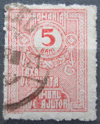 Poštovní známka Rumunsko 1920 Doplatní, daòová Mi# 9 X