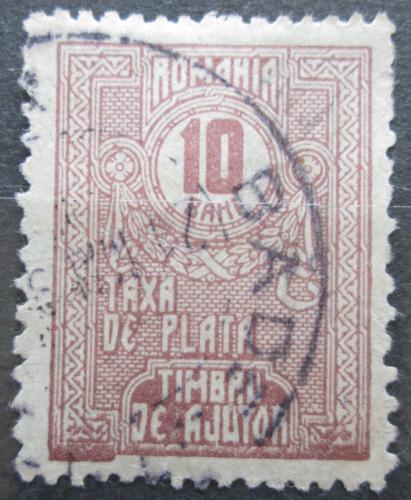 Poštovní známka Rumunsko 1920 Doplatní, daòová Mi# 10 X