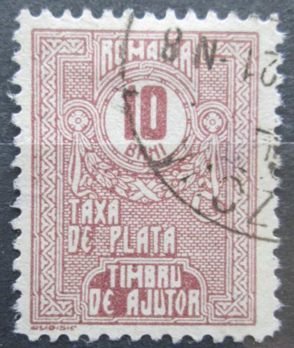 Poštovní známka Rumunsko 1921 Doplatní, daòová Mi# 12