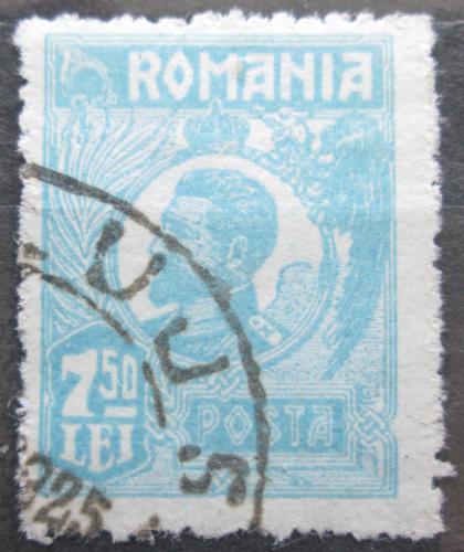Poštovní známka Rumunsko 1923 Král Ferdinand I. Mi# 284