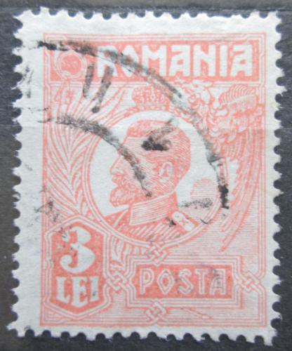 Poštovní známka Rumunsko 1924 Král Ferdinand I. Mi# 277 III