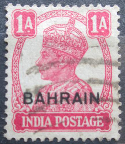 Poštovní známka Bahrajn 1944 Král Jiøí VI. pøetisk Mi# 39