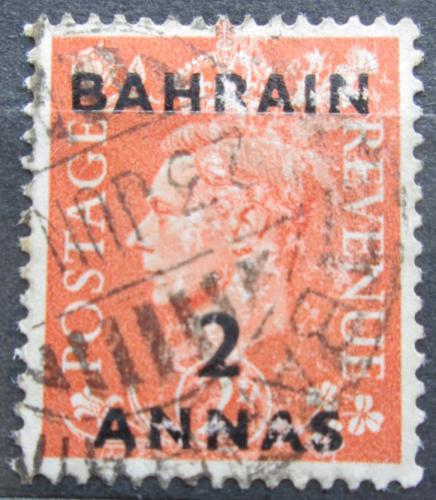 Poštovní známka Bahrajn 1948 Král Jiøí VI. pøetisk Mi# 52