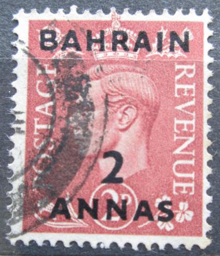 Poštovní známka Bahrajn 1951 Král Jiøí VI. pøetisk Mi# 73