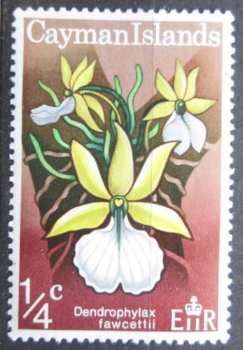 Poštovní známka Kajmanské ostrovy 1971 Orchidej Mi# 286