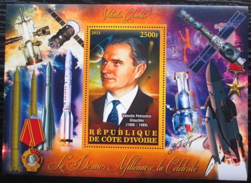 Poštovní známka Pobøeží Slonoviny 2012 Valentin Gluško Mi# N/N