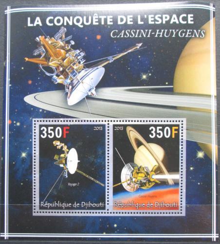 Poštovní známky Džibutsko 2013 Prùzkum vesmíru Mi# N/N