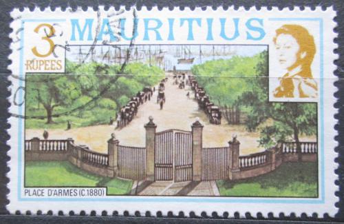 Poštovní známka Mauricius 1978 Place d'Armes Mi# 451 I X A