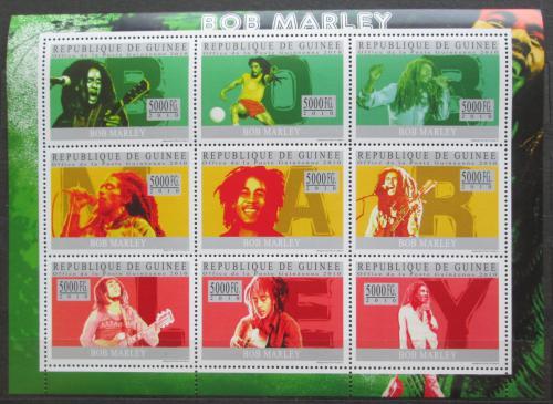 Poštovní známky Guinea 2010 Bob Marley Mi# 7379-87 Kat 18€