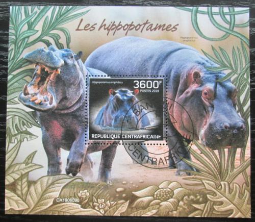 Poštovní známka SAR 2019 Hroch obojživelný Mi# N/N