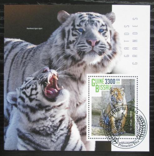 Poštovní známka Guinea-Bissau 2019 Tygr indický Mi# N/N