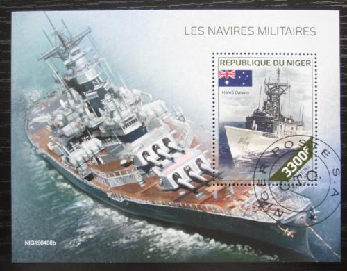 Poštovní známka Niger 2019 Váleèné lodì Mi# N/N
