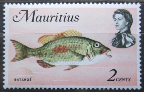Poštovní známka Mauricius 1969 Lethrinus harak Mi# 331