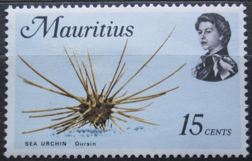 Poštovní známka Mauricius 1969 Acanthocidaris Mi# 336