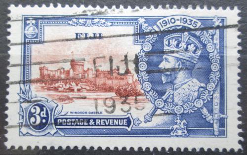 Poštovní známka Fidži 1935 Hrad Windsor Mi# 87