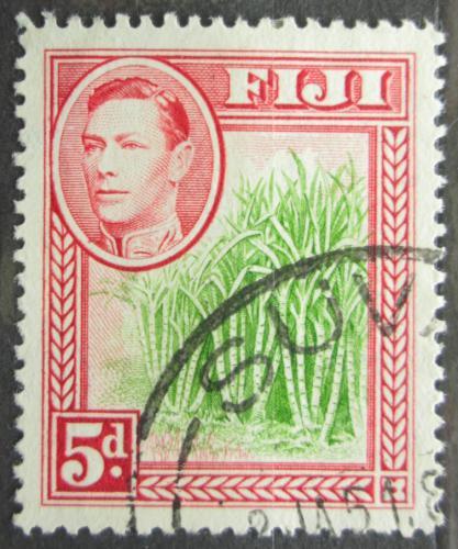 Poštovní známka Fidži 1940 Cukrová tøtina Mi# 100