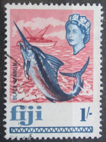 Poštovní známka Fidži 1968 Marlín indický Mi# 220