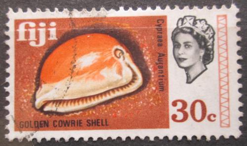 Poštovní známka Fidži 1969 Cypraea aurantium Mi# 244