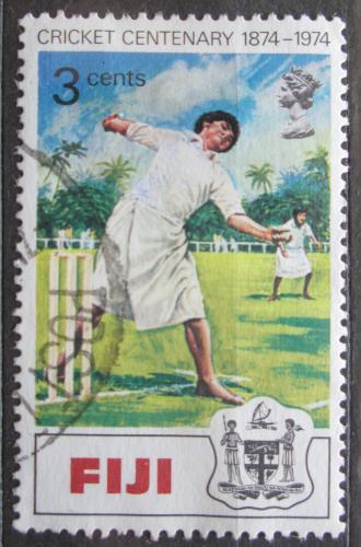 Poštovní známka Fidži 1974 Kriket Mi# 317
