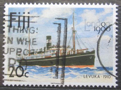 Poštovní známka Fidži 1980 Loï Levuka Mi# 421