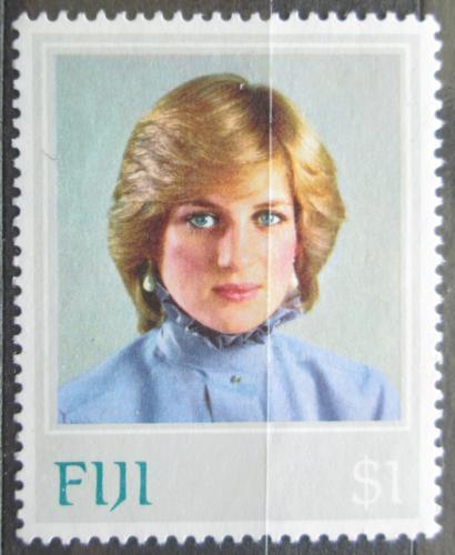 Poštovní známka Fidži 1982 Princezna Diana Mi# 467